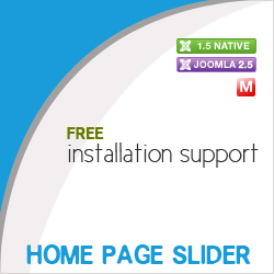 Home Page Slider