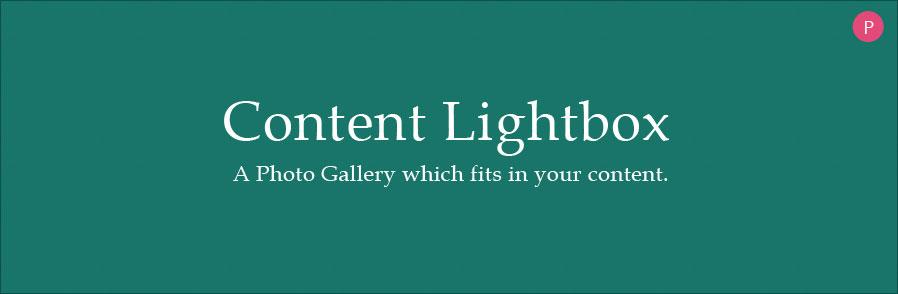 Content Lightbox