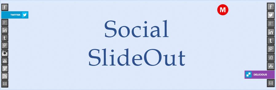 Social SlideOut